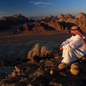 Airport to Wadi Rum