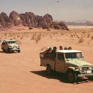 Wadi Rum to Amman